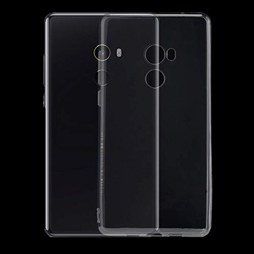 Fundas Xiaomi Xiaomi Mi Mix 2 Funda Protectora de TPU Transparente Ultrafino de 0.75 mm Fundas Xiaomi (Color : Transparent)