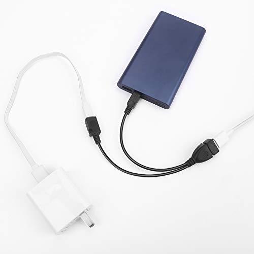 KIMILAR USB adapter Kabel Micro Usb Host OTG Cable, OTG-Kabel + Stromkabel, 2.0 Buchse auf Micro USB Stecker & Micro B Buchse Host OTG Kabel Adapter Ladegerät
