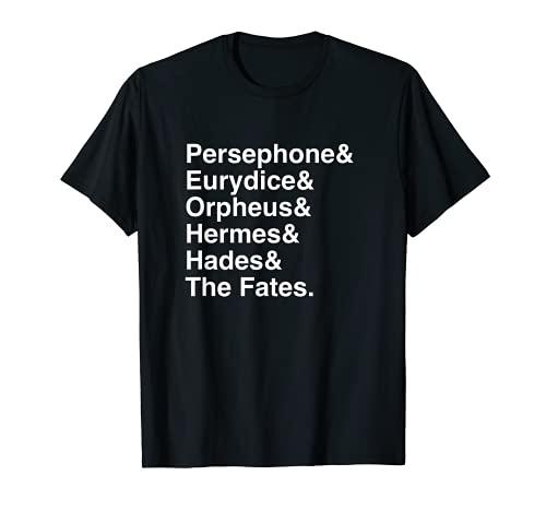 Orpheus, Eurydice, Hadestown Broadway Camisa Musical Theatre Camiseta