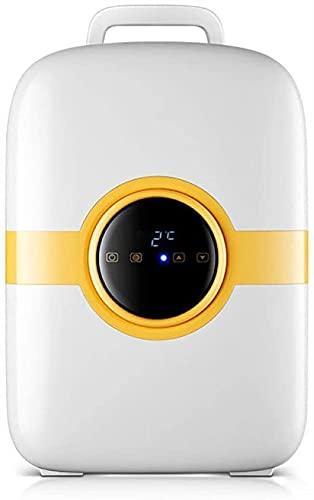 5L Mini Frigorifero Portatile, Compressore Tranquillo LED Display Digitale Freezer Refrigeratore Freddo Caldo Car Warm Freezer Bere Frigo 12V 24 V per Auto Case Uffici E Dormitori