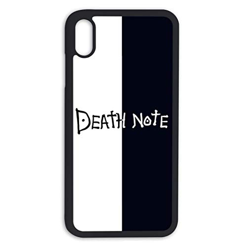Death Note Cases Schutzhülle für iPhone Xs MAS TPC, Schwarz, Einheitsgröße
