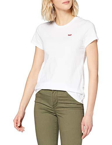 Levi\'s Damen Perfect Tee T-Shirt, Weiß (White Cn-100xx 0006), Medium
