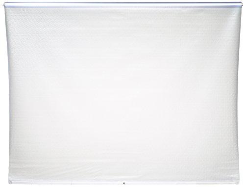 ECO-DuR,4024879002107,Ersatzvorhang Kassetten Duschrollo Seitenzug 134cm - Folie unbedruckt