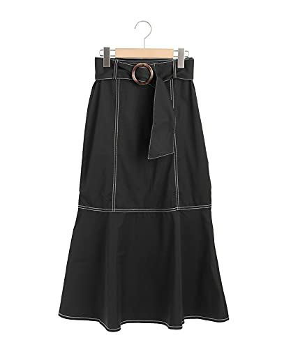 (マジェスティックレゴン) MAJESTIC LEGON レディカラーマーメイドスカート 1017041101 M ブラック