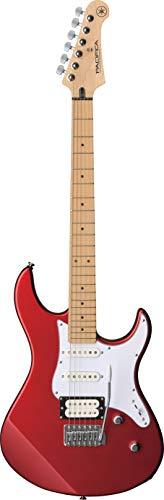 Yamaha Pacifica 112VM, Guitarra eléctrica para principiantes y más, con un diseño elegante y sonido muy versátil gracias a su configuración de sonidos, color rojo metálico vintage