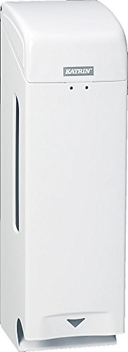 Katrin 984503 3-Roll Toilettenpapierspender, Metall Weiß