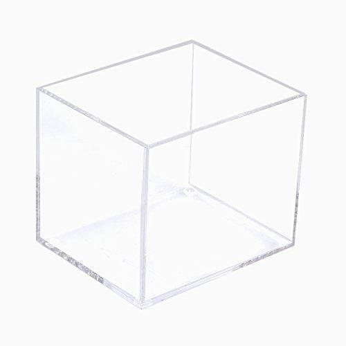 Jadeshay Boîte cosmétique Clair Organisateur cosmétique Pinceau de Maquillage boîte de Rangement Support conteneur Cas Rack(One)