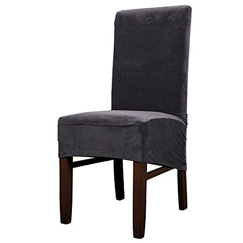 Large Stuhlabdeckung Chair Covers Für Das Esszimmer Soft Stretch Seat Slipcover Für Den Large Dining Chair Waschbarer,Abnehmbarer Stuhlschutz,B-2PCS