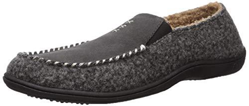 Acorn Men's Crafted Moc Slipper, ash, XX-Large Standard US Width US