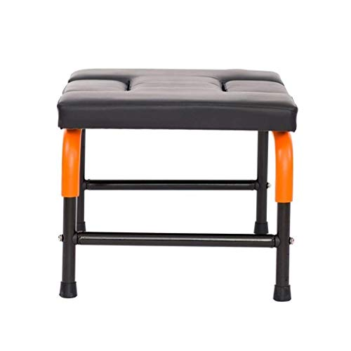 Read About KJRJDL Yoga Chair Body Headstand Bench for Practice Head Stand Shoulder Stand Handstand a...
