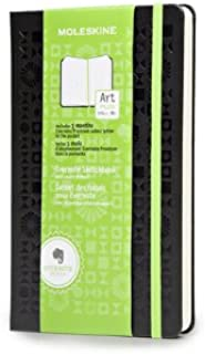Moleskine Evernote Sketchbook with Smart Stickers, Large, Dotted, Black, Hard Cover (5 x 8.25)