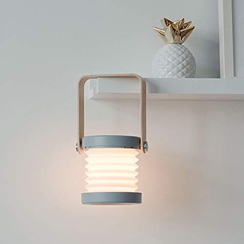 Nachtlampje lantaarn, touch dimbaar, bedlampje