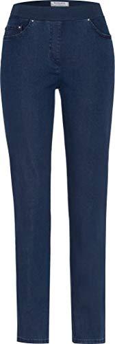 Raphaela by Brax Damen 10-6220 Pamina (Slim) Jeanshose, Blau (STONED 25), W32/L30 (Herstellergröße:42K)