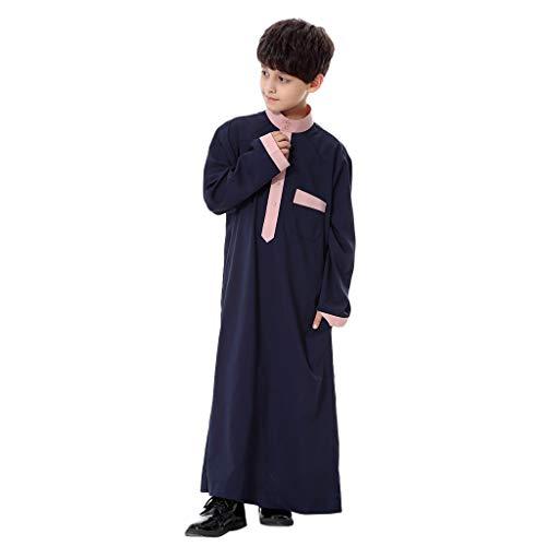 TWIFER Junge Langä Rmelige Solide Saudi Arabische Islamische Muslimische Dubai Robe