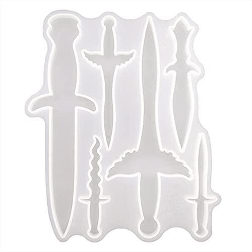 hwljxn Cuchillo de decoración de la decoración de la Daga de Cristal...