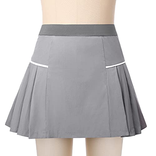 Sykooria Gonna Pantalone Sportiva Corta Club Skirt Gonna Sportiva da Tennis Gonna Golf con Pantaloncini Gonna Elastica Traspirante e Morbido