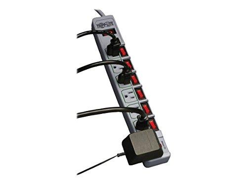 Tripp Lite TLP76MSG 7-Outlet Eco-Surge Energy-Saving Surge Protector