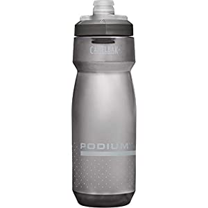 CamelBak Podium Bike Water Bottle 24 oz, Smoke