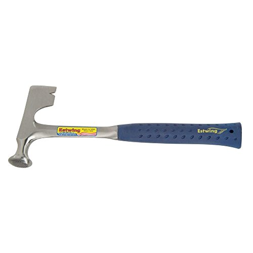 Estwing E3-11 12-Ounce Drywall Hammer with Nylon Vinyl Grip Handle, Milled Face