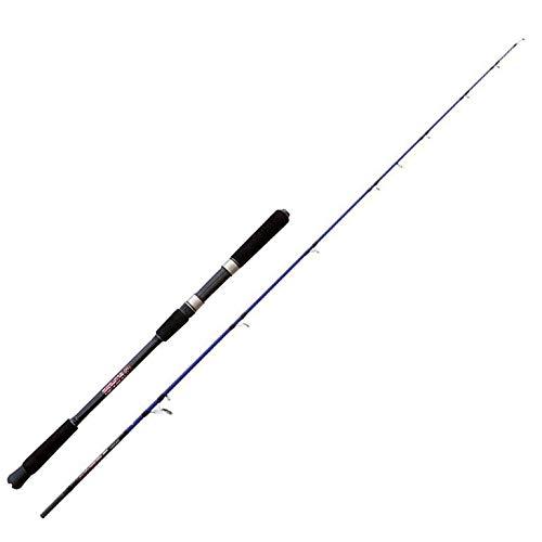NOMURA Popper Special SW 2.40 m 50-70 lbs-150 g Canna da Pesca a Spinning Ideale per Tutti i Pesci Predatori Sia in Mare Che Fiume e Lago