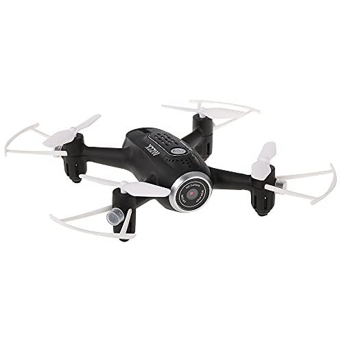 FPVRC SYMA X22W Mini Drone con WIFI FPV Telecamera 0.3 MP, 2.4GHz 4CH 6 Axis Gyro RC Quadricottero Videocamera, Telecomando & Controllo APP, È Possibile Preimpostare il Percorso di Volo - RTF(Bianca)