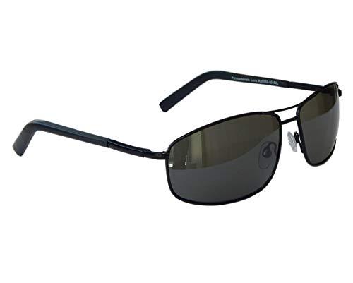 Sonnenbrille Matrix Bikerbrille Motorradbrille Markante Brille Sportlich M 18 (Schwarz Grün)