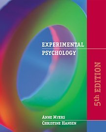Experimental Psychology (with InfoTrac)