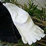 竹繊維5本指ソックス(女性用)3足組ブラック・グレー・ホワイト各1足22cm~24cm