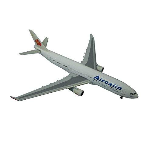 GLXLSBZ Modelo de aleación de avión de Aire a Escala 1/600, Decoraciones de avión de aviación A330-200 de Caledonian International Airlines, 4,7 Pulgadas