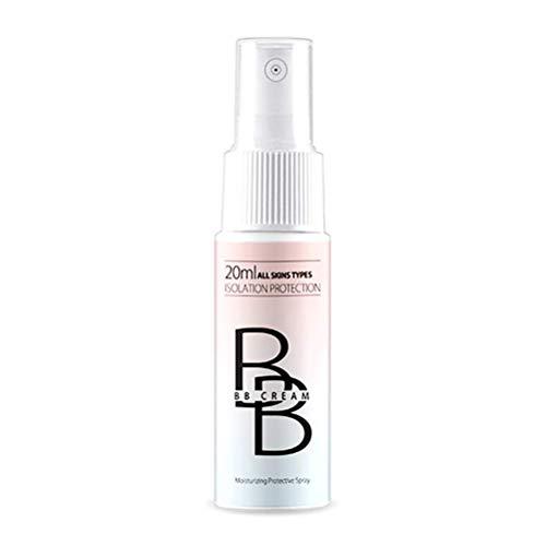 LifeBest 20ml Face BB Creme Concealer Moisturizing Foundation Tragbares Bleaching Spray Gleichmäßige Hautfarbe Make-up Basis BB Creme, Universal Shade für ALLE Haut Make-up