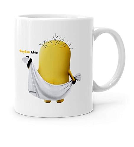 Taza Blanca Personalizada Minions Cup-16 Calidad Confiable Rentable Diseño Especial Lindo Bebidas Cocina? Htiya?