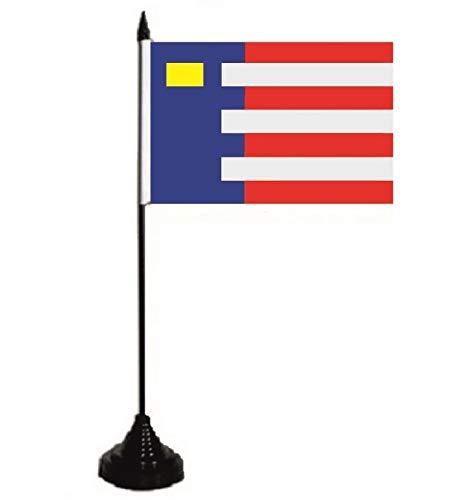 U24 Tafelvlag Baarle-Nassau vlag vlag tafelvlag 10 x 15 cm
