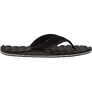 [ヴォルコム] メンズ ビーチサンダル 軽量 (RCFフットベッド : 衝撃吸収) [ V0811520 / Recliner Sandal ] おしゃれ ビーサン 疲れにくい BWH_ブラック 27 cm