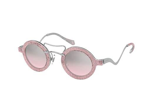 Miu Miu Sonnenbrille MU-02VS 1467L1 rosa pink gr 39 mm brille für damen