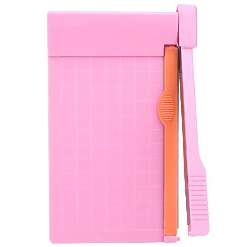 Cortador de papel A5 Guillotina Cortador de papel Artefacto de corte para cupones, manualidades de papel y fotos, capacidad de 3 hojas