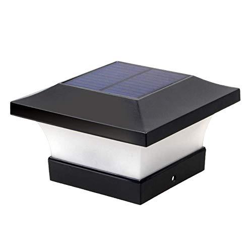 Mooyod Solar Wasserdicht LED Dekoration Kappe Lichter Außen Säule Scheinwerfer Säule Zaunpfahl Lichter Decoration