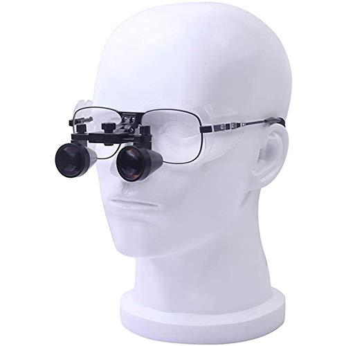 Lupa Médica Dentista Dental Quirúrgico Lupas Binoculares 2.5X 3.5X Lupas Portátil Gafas De Lupa