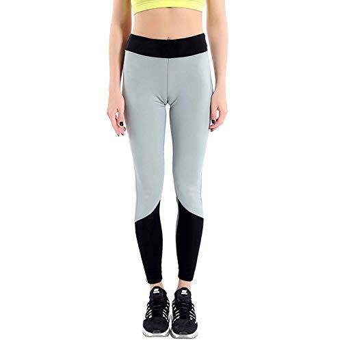 MAOYOU Womens Workout Running Yoga Hosen, High Waist Workout Stretch Pants, Tesla Leggings Athletic Golf Leggings, Soft Lightweight Gym,Black,L
