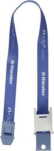 Riester LF5000 ri-clip, azul, cinta sin látex, en bolsa de PE