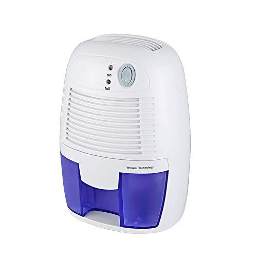 Luftentfeuchter, 500ml Raumentfeuchter Entfeuchter kompakt, tragbar, leise Lufttrockner gegen Feuchtigkeit, Schmutz und Schimmel im Haus, Badezimmer, Büro oder Keller