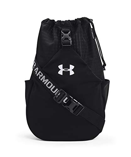 Under Armour Flex Sling Bag, Black (001)/White, One Size Fits All