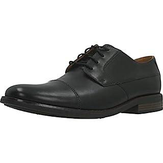 Clarks Men's Becken Cap Derbys, Black Black Leather, 7.5 UK (B07DPMFPKB) | Amazon price tracker / tracking, Amazon price history charts, Amazon price watches, Amazon price drop alerts