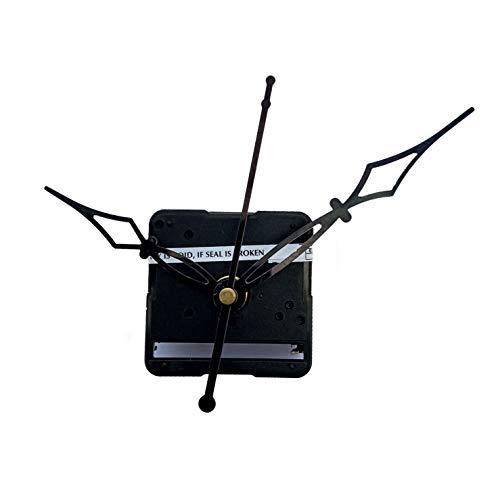 Kangroo Plastic Abstract Ajanta Mfg. Quartz Battery Operated, Movement Machine for Wall Clock (Black)