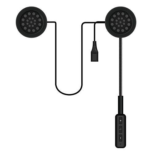 HaiQianXin Drahtlose Bluetooth Freisprecheinrichtung Motorrad Helm Headset Bluetooth Intercom Headset Kopfhörer