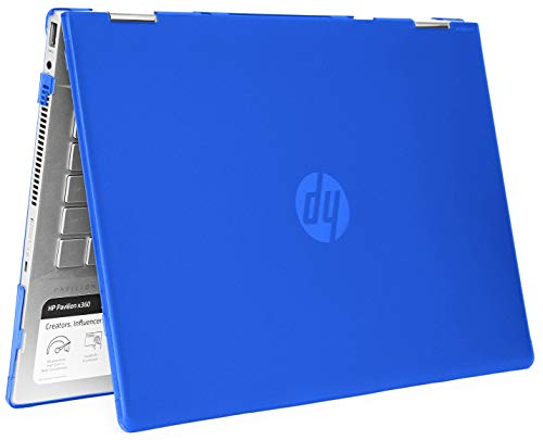 mCover Hard Shell Case for 14' HP Pavilion X360 14-CDxxxx / 14-DDxxxx Series Convertible 2-in-1 laptops – HP-PX360-14CD Blue