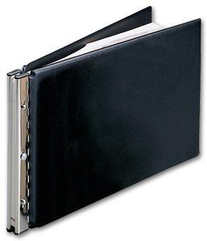 EGP Nebs Journal Sheet Post Binder, Size: 18 1/2 X 11 1/2, Black