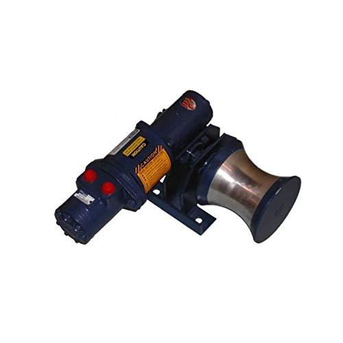 MY-TE HY3D Utility Hydraulic Capstan Winch-Hoist 744050 | 800 Lb. Single or 1,600 Lb. Double-Line Lift | Full Power Reversible | All Purpose LiftingPulling