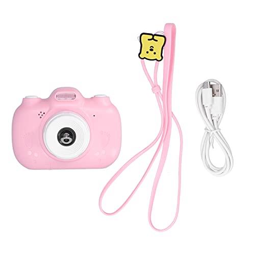 BOLORAMO Cámara Digital portátil, Pegatina fotográfica incorporada USB Recargable Mini cámaras Digitales para niños para Regalo de niños Regalo de cumpleaños