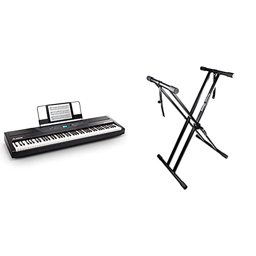 Alesis Recital Pro Piano Eléctrico Digital Con Teclado De 88 Teclas De...