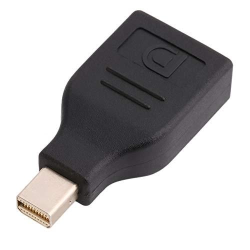 Adaptador Mini DP a DP convertidor, Mini DisplayPort macho a DisplayPort hembra, compatible con Thunderbolt, 2K